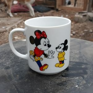 Mickey mouse minnie coffee cup